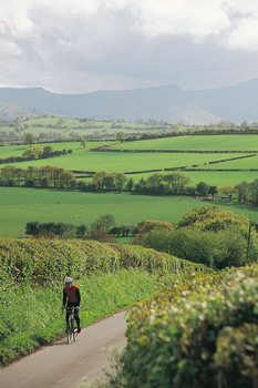 Wonderful cycling in Monmouthshire
